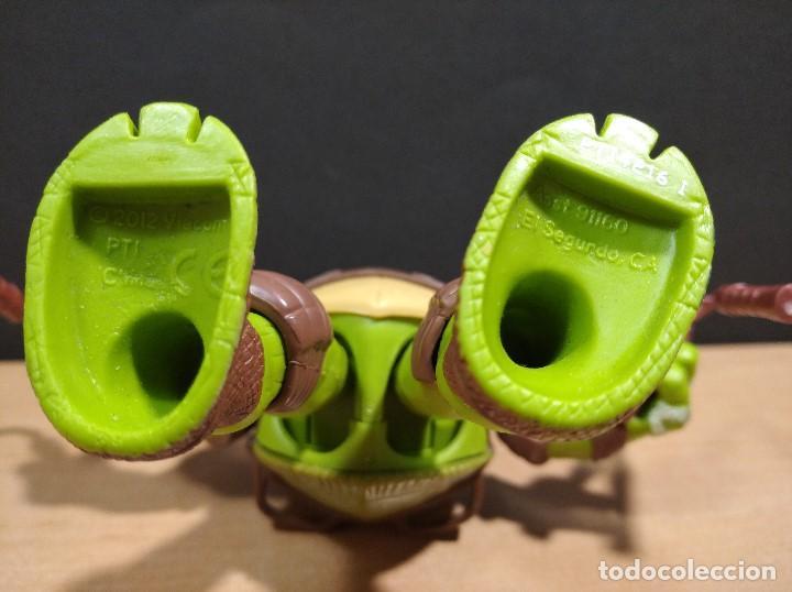 Figuras y Muñecos Tortugas Ninja: FIGURA TORTUGA NINJA MICHELANGELO CON SONIDO-15cm aprox.-VIACOM-2012-VER FOTOS-V1 - Foto 6 - 200036540