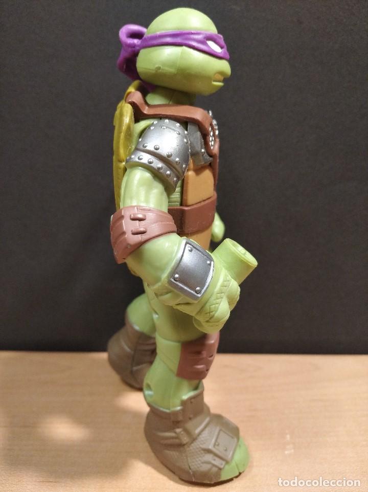 Figuras y Muñecos Tortugas Ninja: FIGURA TORTUGAS NINJAS DONATELO-15cm aprox.-VIACOM-2012-VER FOTOS-V1 - Foto 3 - 200039150