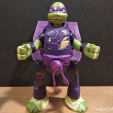 Figuras y Muñecos Tortugas Ninja: FIGURA TORTUGAS NINJAS DONATELO THROW N BATTLE-15CM APROX.-VIACOM-2013-VER FOTOS-V1. Lote 200039530