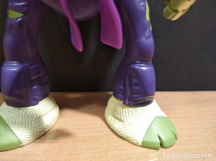 Figuras y Muñecos Tortugas Ninja: FIGURA TORTUGAS NINJAS DONATELO THROW N BATTLE-15cm aprox.-VIACOM-2013-VER FOTOS-V2 - Foto 3 - 200039651