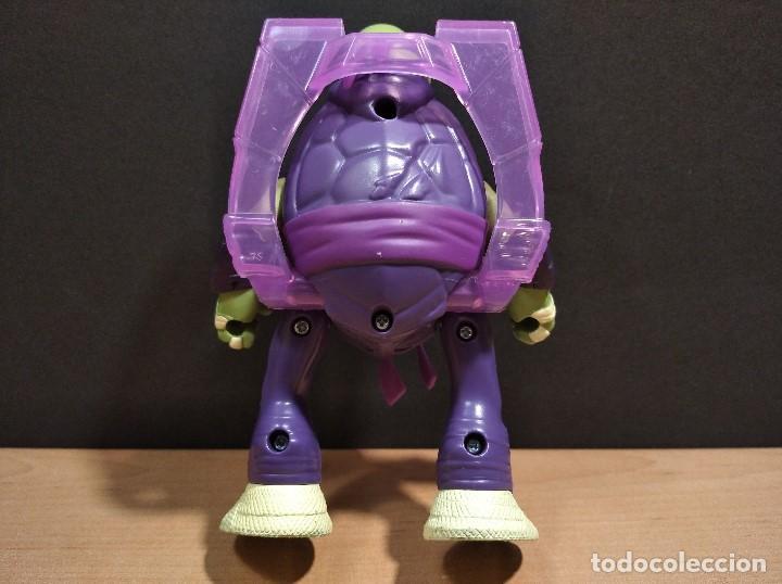 Figuras y Muñecos Tortugas Ninja: FIGURA TORTUGAS NINJAS DONATELO THROW N BATTLE-15cm aprox.-VIACOM-2013-VER FOTOS-V2 - Foto 5 - 200039651