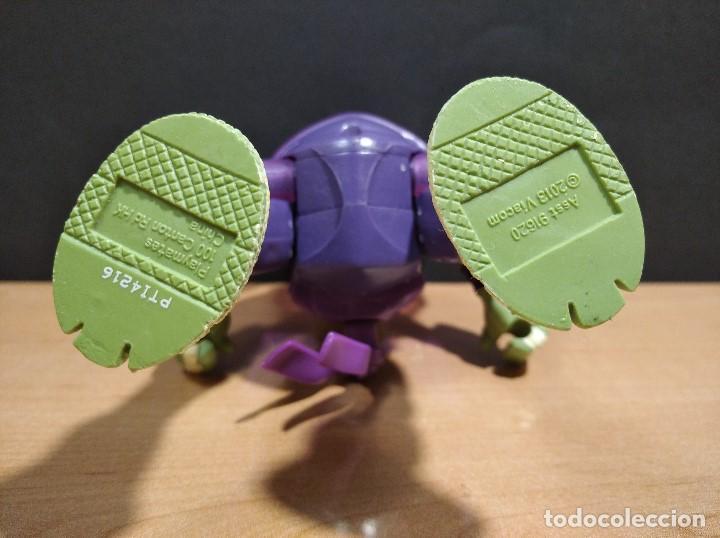 Figuras y Muñecos Tortugas Ninja: FIGURA TORTUGAS NINJAS DONATELO THROW N BATTLE-15cm aprox.-VIACOM-2013-VER FOTOS-V2 - Foto 7 - 200039651