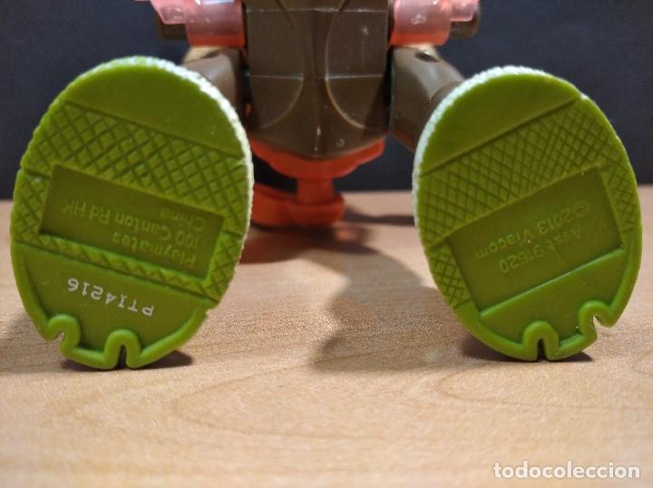 Figuras y Muñecos Tortugas Ninja: FIGURA TORTUGAS NINJAS MICHELANGELO THROW N BATTLE-15cm aprox.-VIACOM-2013-VER FOTOS-V1 - Foto 7 - 200040191