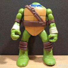 Figuras y Muñecos Tortugas Ninja: FIGURA TORTUGAS NINJAS LEONARDO-11CM APROX.-VIACOM PLAYMATES-2014-VER FOTOS-V1. Lote 200047882