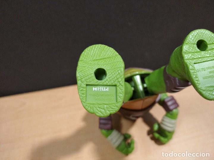 Figuras y Muñecos Tortugas Ninja: FIGURA TORTUGAS NINJAS LEONARDO-11cm aprox.-VIACOM PLAYMATES-2014-VER FOTOS-V1 - Foto 8 - 200047882