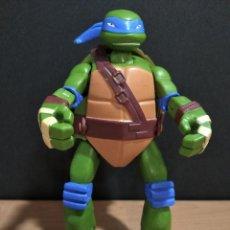 Figuras y Muñecos Tortugas Ninja: FIGURA TORTUGAS NINJAS LEONARDO MUTATIONS-14CM APROX.-VIACOM PLAYMATES-2014-VER FOTOS-V1. Lote 200048702