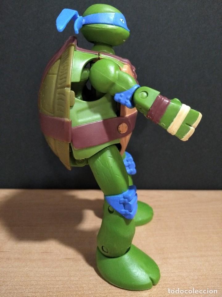 Figuras y Muñecos Tortugas Ninja: FIGURA TORTUGAS NINJAS LEONARDO MUTATIONS-14cm aprox.-VIACOM PLAYMATES-2014-VER FOTOS-V1 - Foto 3 - 200048702