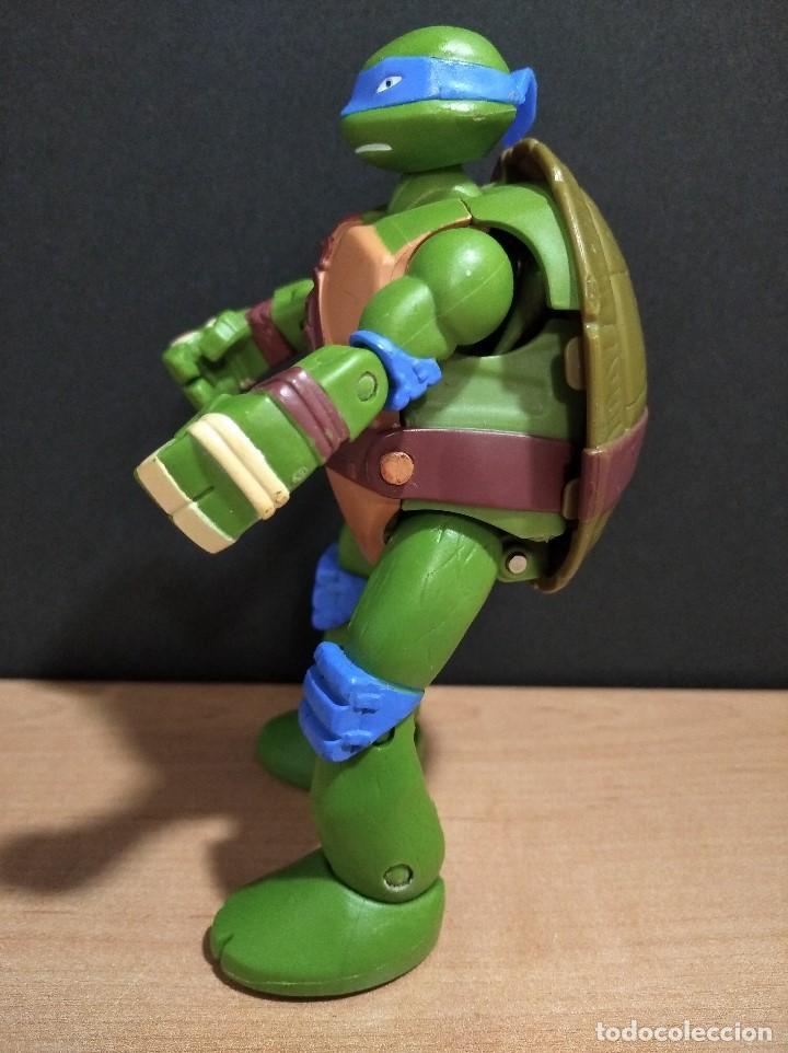 Figuras y Muñecos Tortugas Ninja: FIGURA TORTUGAS NINJAS LEONARDO MUTATIONS-14cm aprox.-VIACOM PLAYMATES-2014-VER FOTOS-V1 - Foto 5 - 200048702