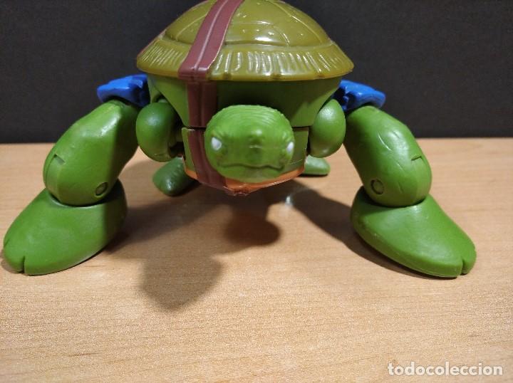Figuras y Muñecos Tortugas Ninja: FIGURA TORTUGAS NINJAS LEONARDO MUTATIONS-14cm aprox.-VIACOM PLAYMATES-2014-VER FOTOS-V1 - Foto 6 - 200048702