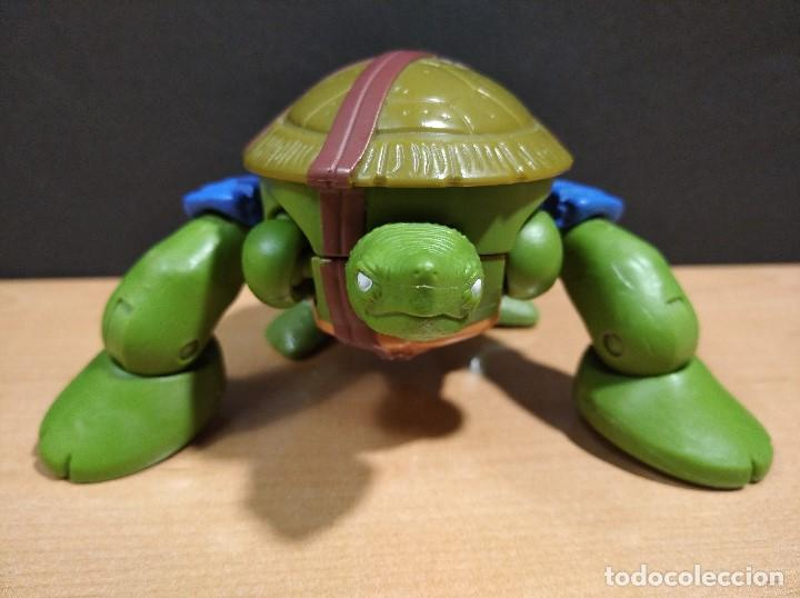 Figuras y Muñecos Tortugas Ninja: FIGURA TORTUGAS NINJAS LEONARDO MUTATIONS-14cm aprox.-VIACOM PLAYMATES-2014-VER FOTOS-V1 - Foto 7 - 200048702