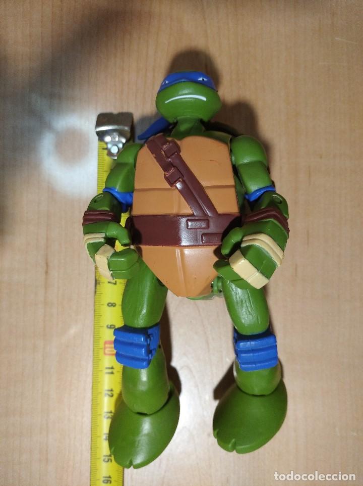 Figuras y Muñecos Tortugas Ninja: FIGURA TORTUGAS NINJAS LEONARDO MUTATIONS-14cm aprox.-VIACOM PLAYMATES-2014-VER FOTOS-V1 - Foto 10 - 200048702