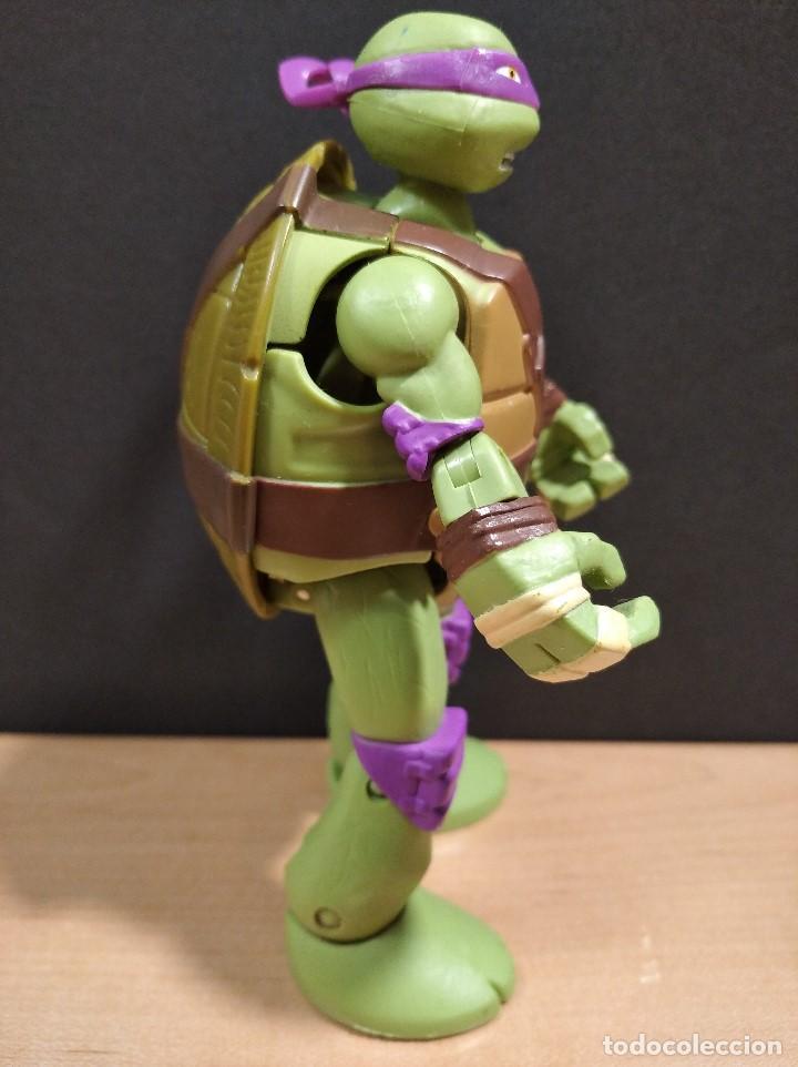 Figuras y Muñecos Tortugas Ninja: FIGURA TORTUGAS NINJAS DONATELO MUTATIONS-14cm aprox.-VIACOM PLAYMATES-2014-VER FOTOS-V1 - Foto 3 - 200048936