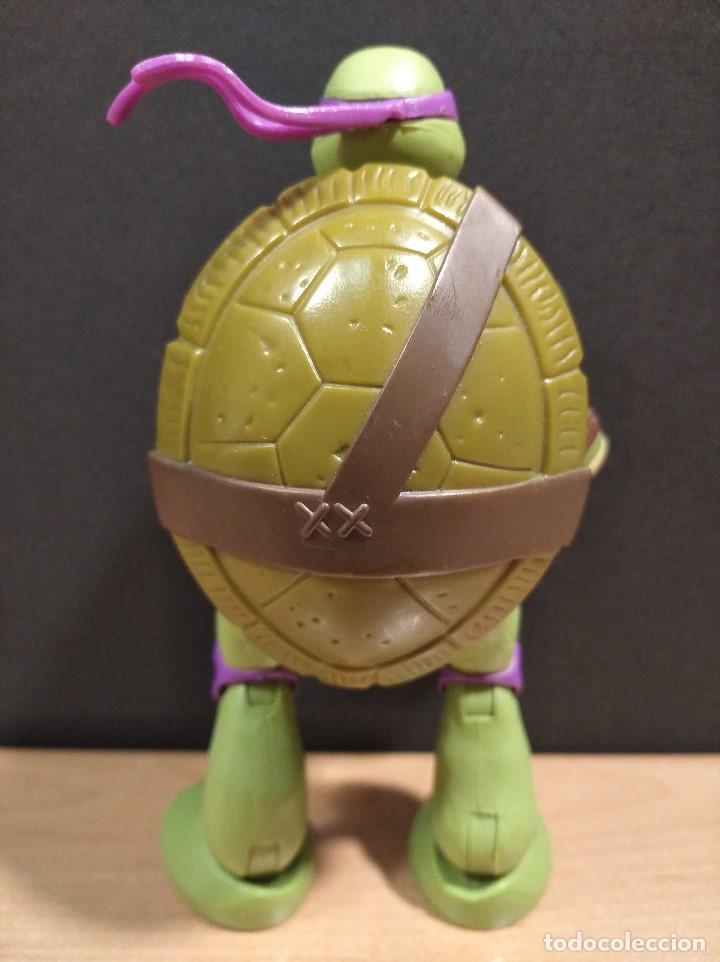 Figuras y Muñecos Tortugas Ninja: FIGURA TORTUGAS NINJAS DONATELO MUTATIONS-14cm aprox.-VIACOM PLAYMATES-2014-VER FOTOS-V1 - Foto 4 - 200048936