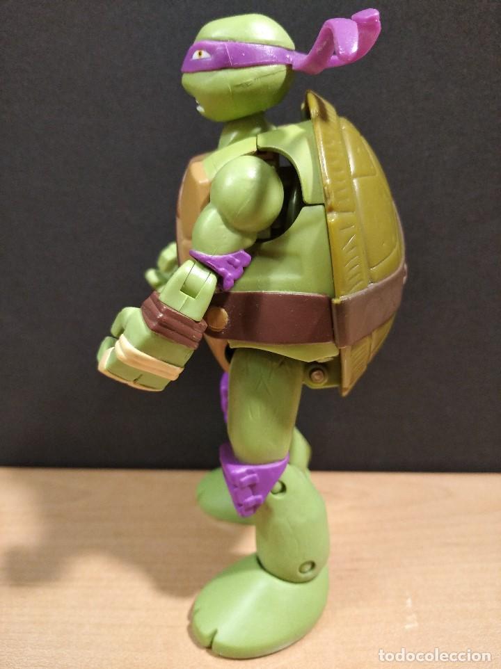 Figuras y Muñecos Tortugas Ninja: FIGURA TORTUGAS NINJAS DONATELO MUTATIONS-14cm aprox.-VIACOM PLAYMATES-2014-VER FOTOS-V1 - Foto 5 - 200048936