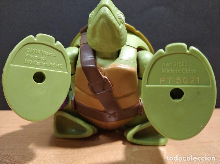 Figuras y Muñecos Tortugas Ninja: FIGURA TORTUGAS NINJAS DONATELO MUTATIONS-14cm aprox.-VIACOM PLAYMATES-2014-VER FOTOS-V1 - Foto 7 - 200048936