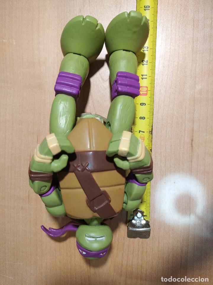 Figuras y Muñecos Tortugas Ninja: FIGURA TORTUGAS NINJAS DONATELO MUTATIONS-14cm aprox.-VIACOM PLAYMATES-2014-VER FOTOS-V1 - Foto 8 - 200048936