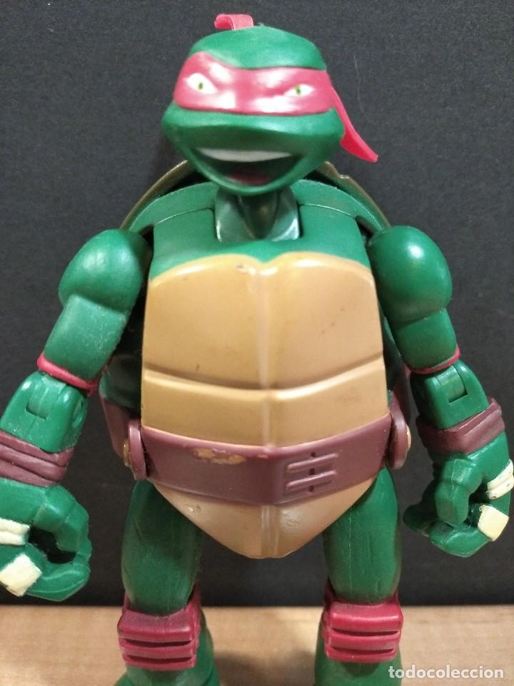 Figuras y Muñecos Tortugas Ninja: FIGURA TORTUGAS NINJAS RAFAEL MUTATIONS-14cm aprox.-VIACOM PLAYMATES-2014-VER FOTOS-V1 - Foto 2 - 200049156