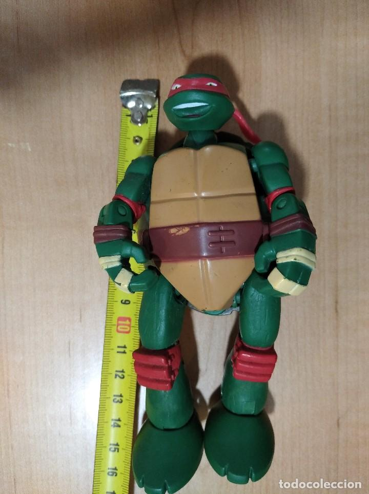 Figuras y Muñecos Tortugas Ninja: FIGURA TORTUGAS NINJAS RAFAEL MUTATIONS-14cm aprox.-VIACOM PLAYMATES-2014-VER FOTOS-V1 - Foto 9 - 200049156