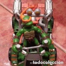 Figuras y Muñecos Tortugas Ninja: COCHE TORTUGA NINJA MICHELANGELO 2007 MIRAGE STUDIO. Lote 200085278