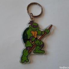 Figuras y Muñecos Tortugas Ninja: LLAVERO DE LAS TORTUGAS NINJA DONATELLO MIRAGE STUDIOS. Lote 202768242