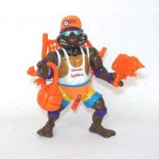 Figuras e Bonecos Tartarugas Ninja: TORTUGAS NINJA VOLEIBOL PLAYMATES TOYS 1992 NINJA TURTLES FIGURA DE ACCIÓN. Lote 203298826