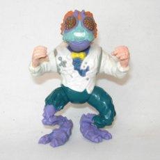 Figuras y Muñecos Tortugas Ninja: TORTUGAS NINJA DR BAXTER STOCKMAN PLAYMATES TOYS 1989 NINJA TURTLES FIGURA DE ACCIÓN. Lote 203603846