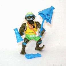 Figuras e Bonecos Tartarugas Ninja: TORTUGAS NINJA SALVAVIDAS PLAYMATES TOYS 1992 NINJA TURTLES FIGURA DE ACCIÓN. Lote 203630193
