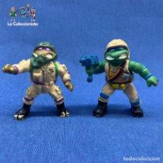 Figuras y Muñecos Tortugas Ninja: TORTUGAS NINJAS - LOTE DE 2 TORTUGAS NINJAS - YOLANDA - MIRAGE STUDIO - AÑO 1988 - DE 8 CM C/U. Lote 203799473