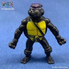 Figuras y Muñecos Tortugas Ninja: TORTUGAS NINJAS - BOOTLEG - NEGRA - RARA - SIN MARCAS - 7 CM. Lote 203800830