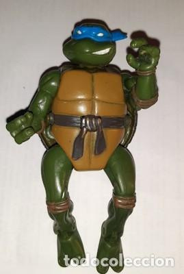 TORTUGA NINJA LEONARDO TRANSFORMABLE PLAYMATES TOYS 2003 (Juguetes - Figuras de Acción - Tortugas Ninja)
