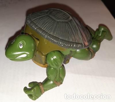 Figuras y Muñecos Tortugas Ninja: TORTUGA NINJA LEONARDO TRANSFORMABLE PLAYMATES TOYS 2003 - Foto 2 - 204066806