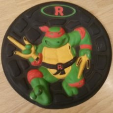 Figuras y Muñecos Tortugas Ninja: PLHAT BALL DONATELLO- HASBRO 1990- FRISBEES- TORTTUGA NINJA. Lote 205202370