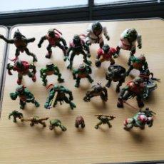 Figuras y Muñecos Tortugas Ninja: LOTE DE TORTUGAS NINJA. Lote 205717342