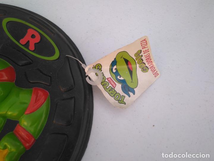 Figuras y Muñecos Tortugas Ninja: PIZZA DISCO - TORTUJAS NINJA - RAPHAEL - MB AÑO 1990 - A ESTRENAR. - Foto 2 - 205811140