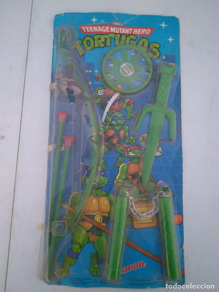 BLISTER DE ARMAS DE LAS TORTUGAS NINJA - JUGUETES JOSMAN - A ESTRENAR (Juguetes - Figuras de Acción - Tortugas Ninja)