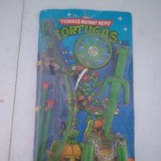 Figuras y Muñecos Tortugas Ninja: BLISTER DE ARMAS DE LAS TORTUGAS NINJA - JUGUETES JOSMAN - A ESTRENAR. Lote 205813060