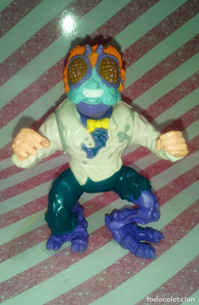 FIGURA MOSCA DR. BAXTER STOCKMAN, DE LAS TORTUGAS NINJA - TEENAGE MUTANT NINJA TURTLES - 1989 (Juguetes - Figuras de Acción - Tortugas Ninja)