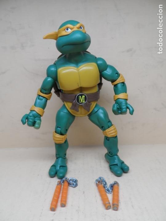 TMNT CLASSIC COLLECTION MICHELANGELO 2012 PLAYMATES 15CM (Juguetes - Figuras de Acción - Tortugas Ninja)