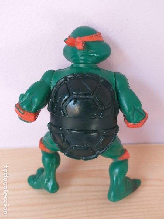 Figuras y Muñecos Tortugas Ninja: figura de accion tortugas ninja michelangelo vintage años 90 - Foto 2 - 206483275
