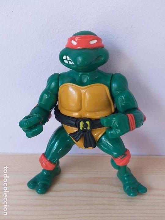 FIGURA DE ACCION TORTUGAS NINJA MICHELANGELO VINTAGE AÑOS 90 (Juguetes - Figuras de Acción - Tortugas Ninja)