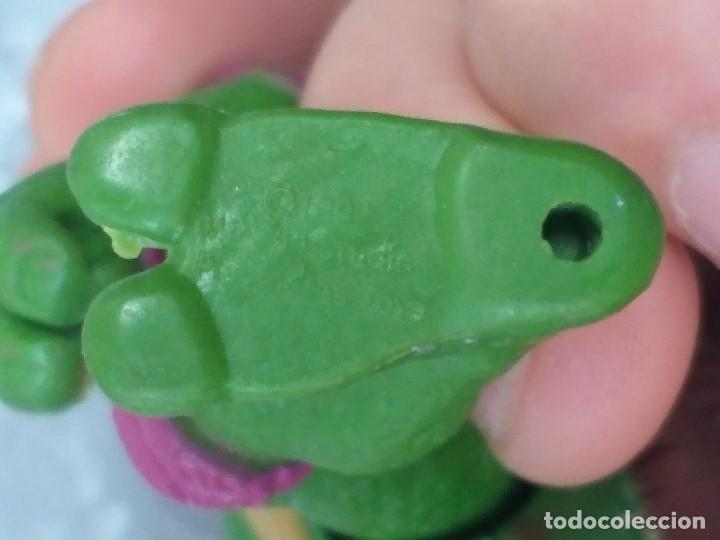 Figuras y Muñecos Tortugas Ninja: lote 4 tortugas ninja movie star vintage años 90 version de la pelicula de los 90 - Foto 7 - 206484828