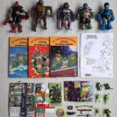 Figurines et Jouets Tortues Ninja: LOTE COLECCIONISTAS TORTUGAS NINJA FIGURAS Y MERCHANDISING. Lote 206985653