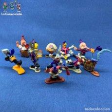 Figuras y Muñecos Tortugas Ninja: LOTE 11 FIGURAS WARNER BROSS - F.C.B. - BARCELONA - BARÇA - AÑOS 90. Lote 208453477