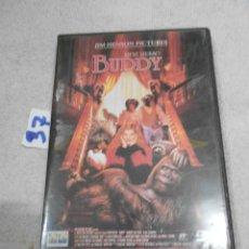 Figuras y Muñecos Tortugas Ninja: PELICULA DVD - BUDDY - ENVIO INCLUIDO A ESPAÑA. Lote 209052383