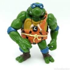 Figuras y Muñecos Tortugas Ninja: LEONARDO DE LAS CAVERNAS, CAVEMAN, PLAYMATES TOYS, AÑO 1992 TORTUGAS NINJA, TMNT. Lote 209115693
