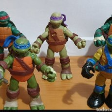 Figuras y Muñecos Tortugas Ninja: TORTUGAS NINJA ARTICULADAS VIACOM. Lote 209323570