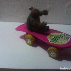 Figuras y Muñecos Tortugas Ninja: TORTUGAS NINJA VINTAGE SKATE TURBO TMNT 15CM-. Lote 209847707