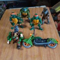 Figuras y Muñecos Tortugas Ninja: LOTE TORTUGAS NINJA MIRAGE STUDIOS DIFERENTES AÑOS. Lote 209984245