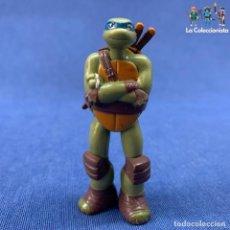 Figuras y Muñecos Tortugas Ninja: TORTUGAS NINJAS - LEO - LEONARDO - VIACOM AÑO 2013 - 7 CM. Lote 210002912