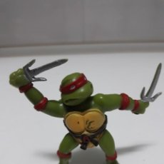 Figuras y Muñecos Tortugas Ninja: FIGURA DE GOMA TORTUGA NINJA RAFAEL 1988 YOLANDA. Lote 210701544